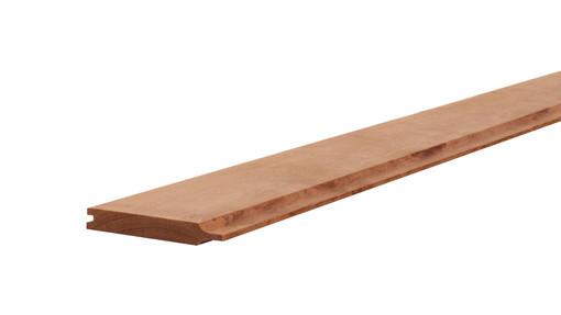 <BIG><B>Hardhouten rabat 2,1 x 14,5 x 180 cm.</B></BIG>