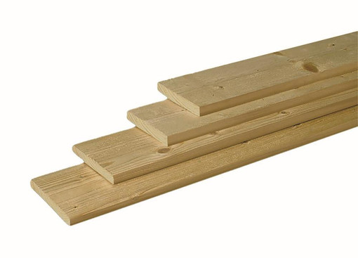 <BIG><B>Scandinavisch vuren geschaafde plank 1,8 x 14,5 x 360 cm.</B></BIG>