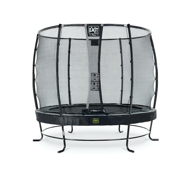 EXIT Elegant Premium trampoline ø253cm met Deluxe veiligheidsnet- zwart