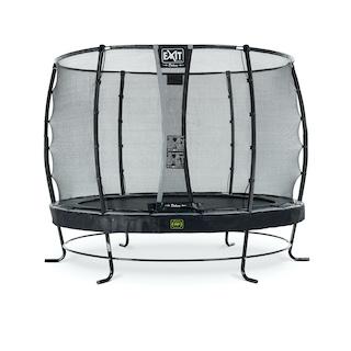EXIT Elegant Premium trampoline ø305cm met Deluxe veiligheidsnet- zwart