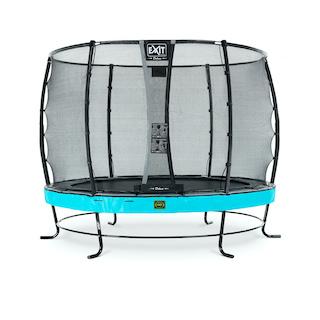 EXIT Elegant Premium trampoline ø305cm met Deluxe veiligheidsnet- blauw
