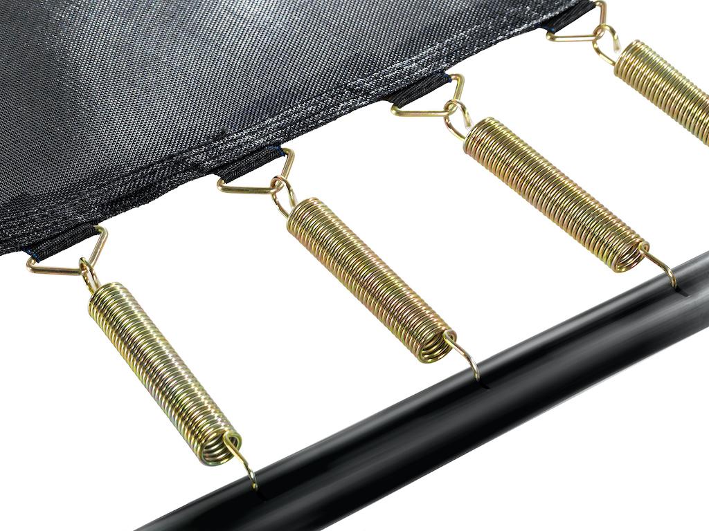 EXIT Trampoline Elegant Premium 214x366cm avec filet de sécurité Deluxe - vert