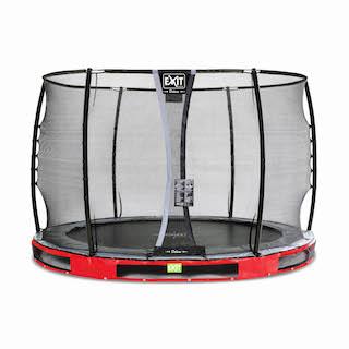 EXIT Elegant Premium inground trampoline ø305cm met Deluxe