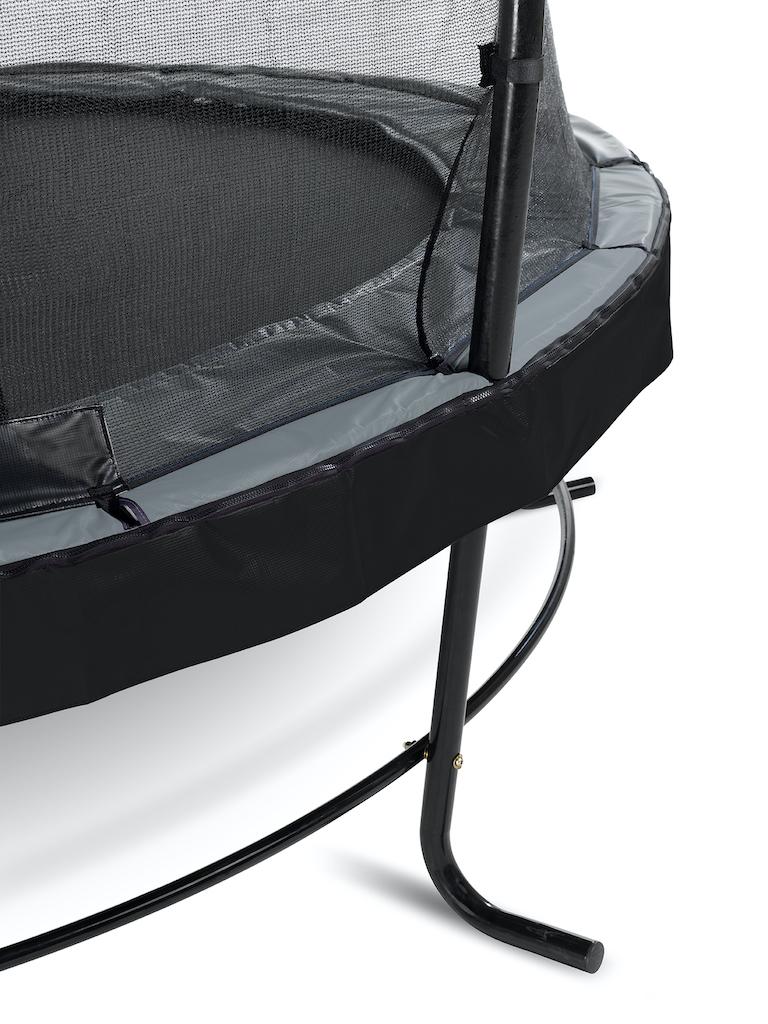 EXIT Trampoline élégant ø253cm avec filet de sécurité EcoNeemy - noir