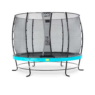 EXIT Elegant trampoline ø305cm met Economy veiligheidsnet- blauw