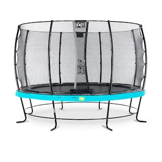 EXIT Elegant trampoline ø366cm met Economy veiligheidsnet- blauw