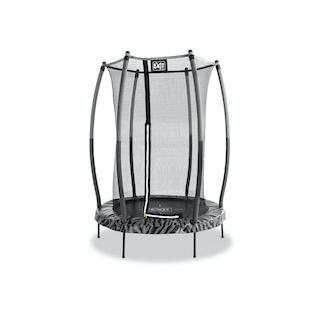 EXIT Tiggy junior trampoline met veiligheidsnetø140cm - zwart/grijs