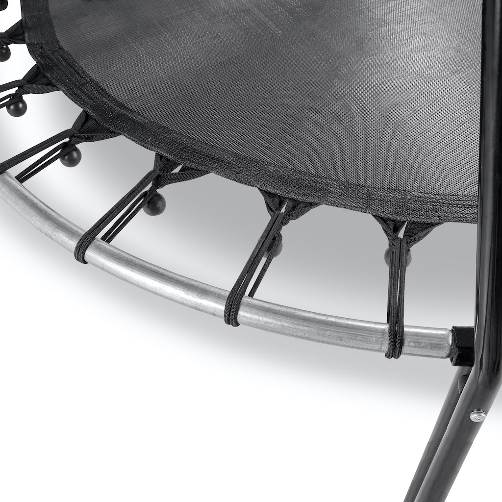 EXIT Tiggy trampoline junior avec support ø140cm - noir / gris