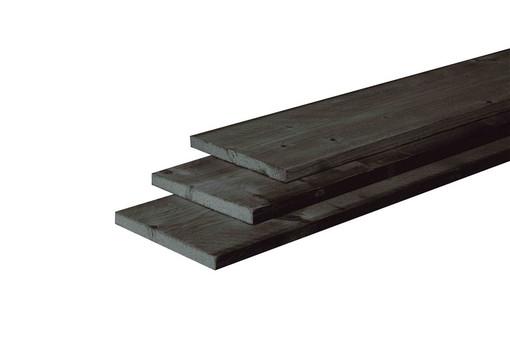 <BIG> <B> Planche de Douglas finement sciée 2,2 x 20 x 500 cm, trempé noir. </B> </BIG>