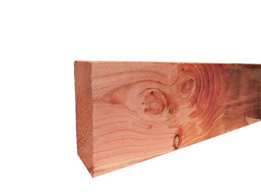 <BIG><B>Douglas fijnbezaagde gording 5,0 x 15,0 x 400 cm, groen ge&iuml;mpregneerd.</B></BIG>