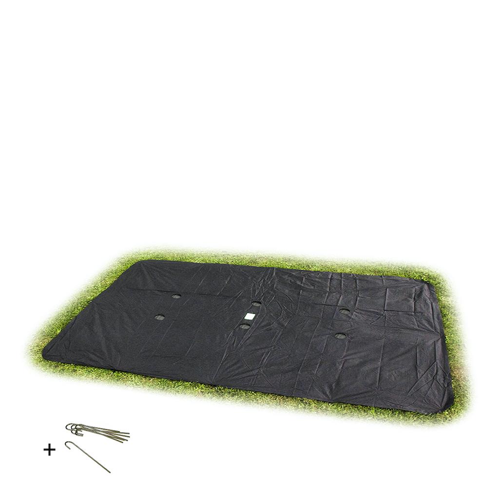 EXIT housse de trampoline de plain-pied rectangulaire 275x458cm