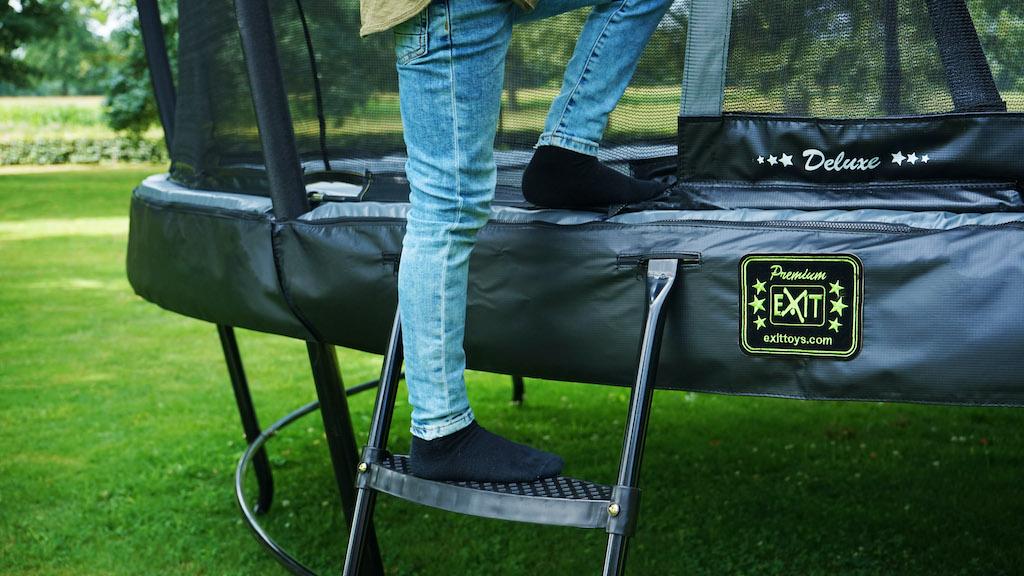 Échelle de trampoline EXIT pour hauteur de cadre: de 65 à 80 cm