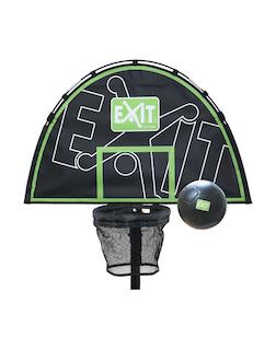 EXIT Trampoline basket with foam ball Basketbalring voor trampolines