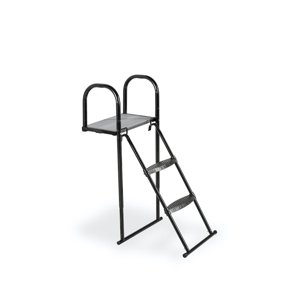 EXIT Trampoline platform met ladder voor Framehoogte:  van 80-95cm