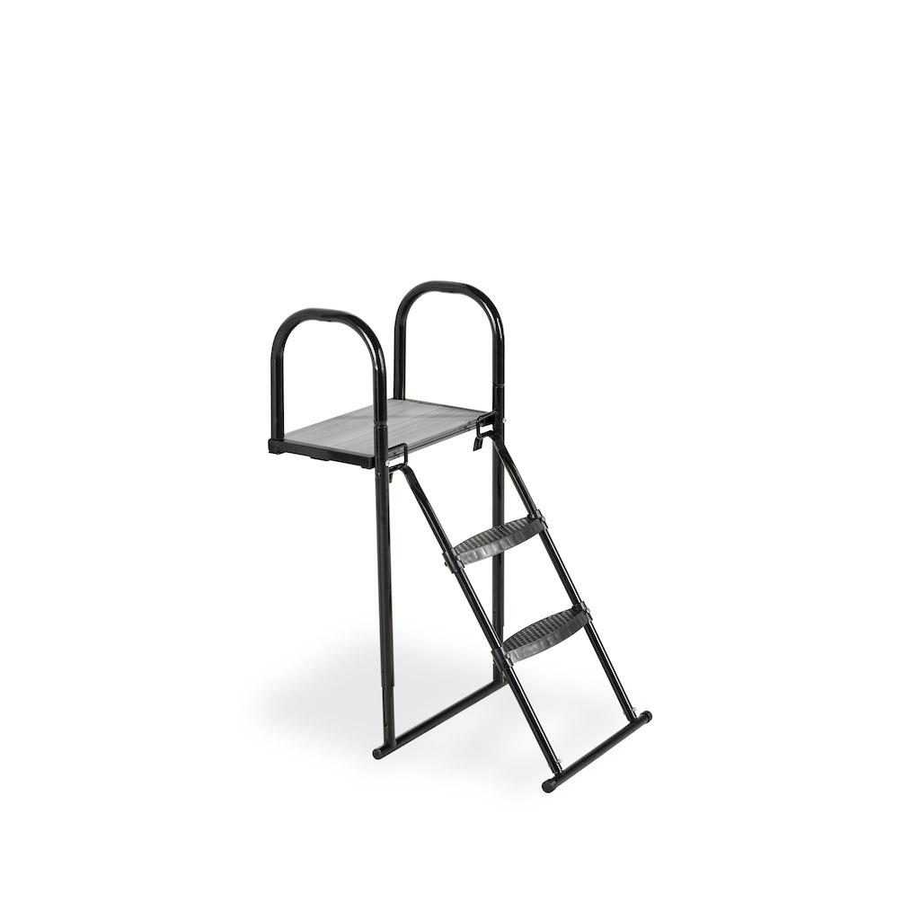 EXIT Trampoline platform met ladder voor Framehoogte:  van 65-80cm