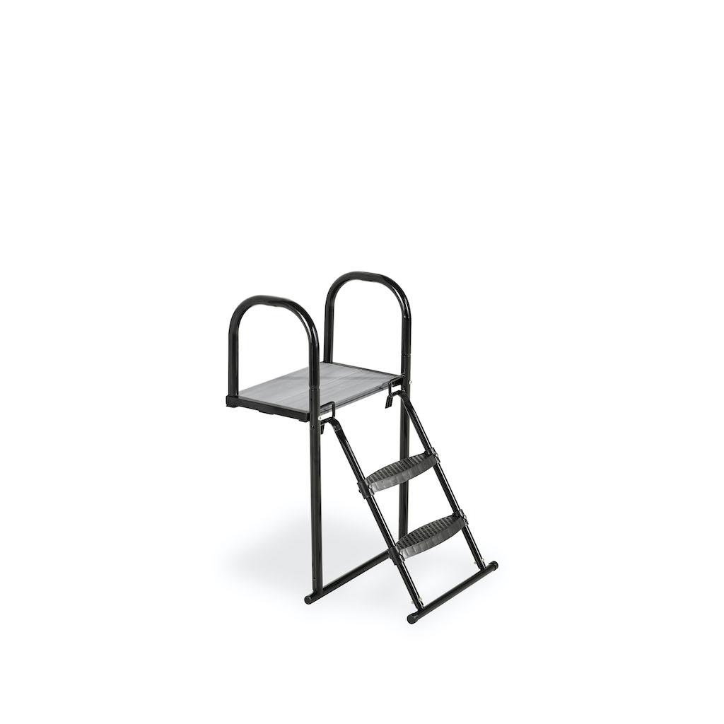 EXIT Trampoline platform met ladder voor Framehoogte:  van 50-65cm
