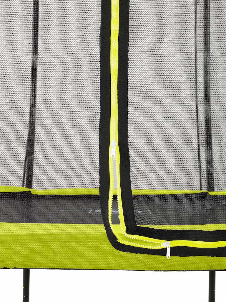 EXIT Silhouette trampoline ø244cm - groen