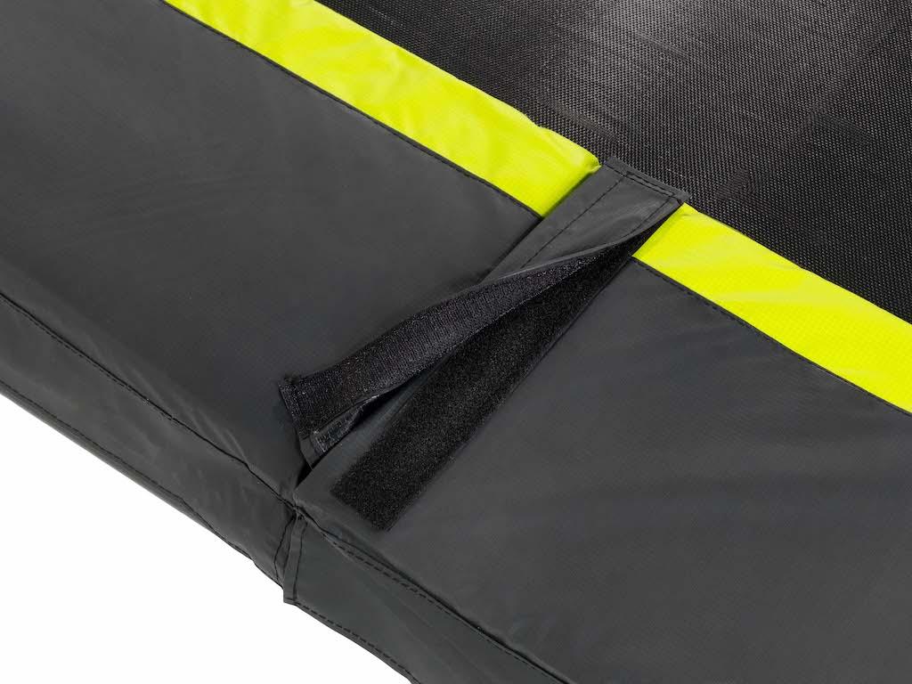 EXIT Silhouette trampoline ø366cm - zwart