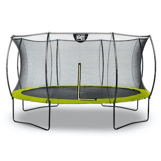 EXIT Silhouette trampoline ø427cm - groen