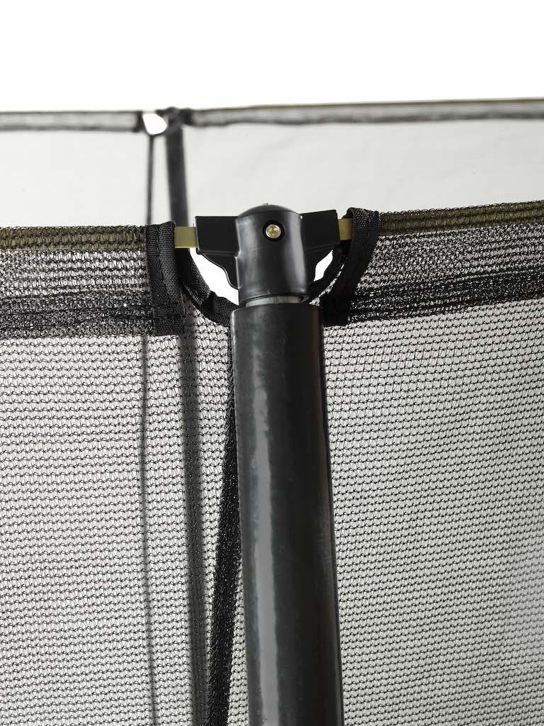 Trampoline EXIT Silhouette ø427cm - vert