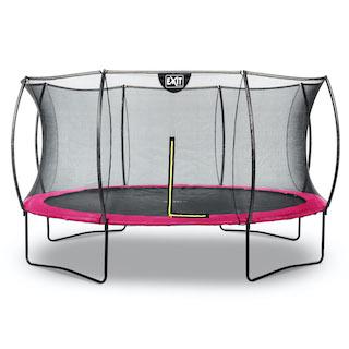 EXIT Silhouette trampoline ø427cm - roze