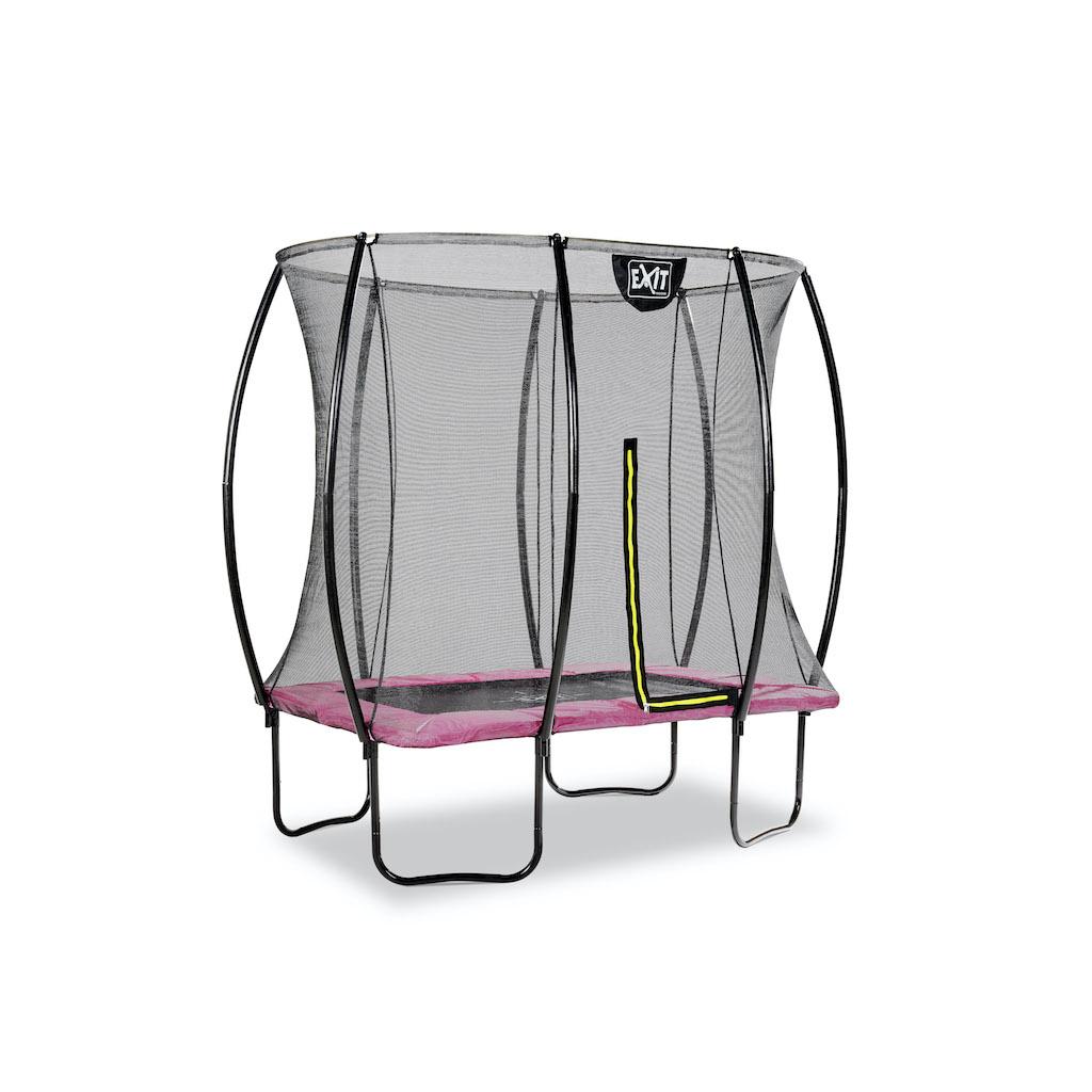 EXIT Silhouette trampoline 153x214cm - roze