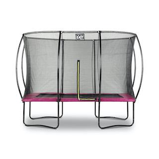 EXIT Silhouette trampoline 214x305cm - roze