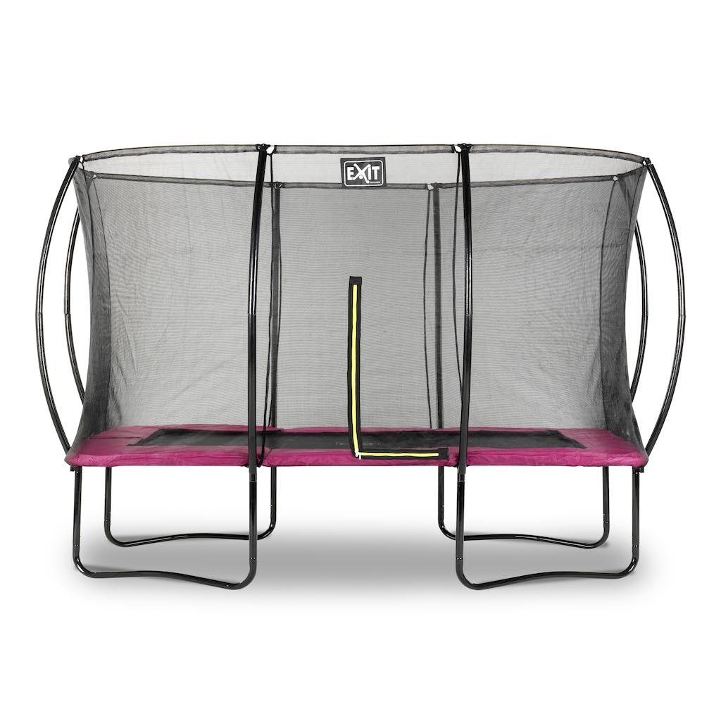 EXIT Silhouette trampoline 244x366cm - roze