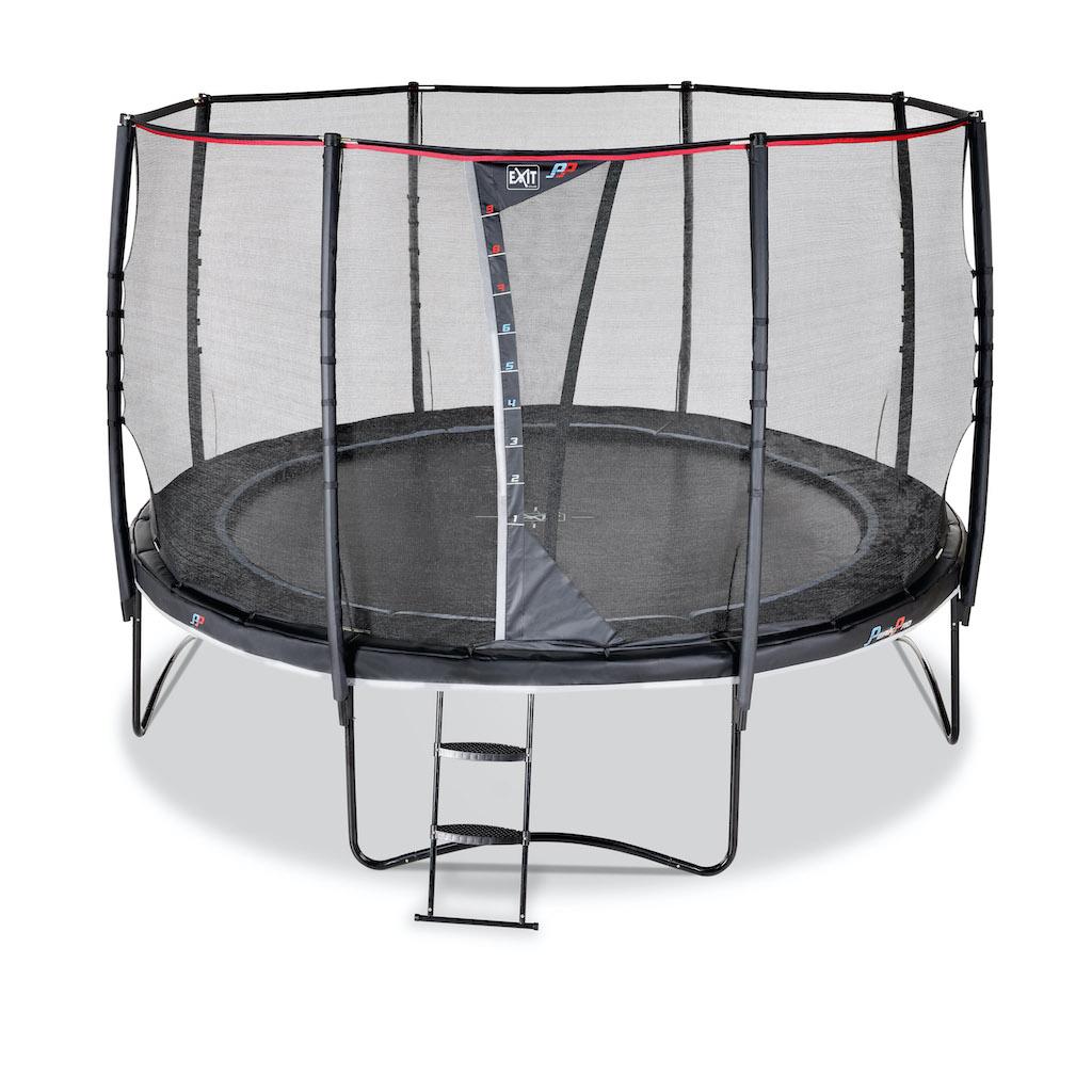 EXIT PeakPro trampoline ø366cm - zwart