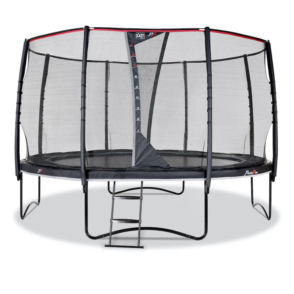 EXIT PeakPro trampoline ø427cm - zwart
