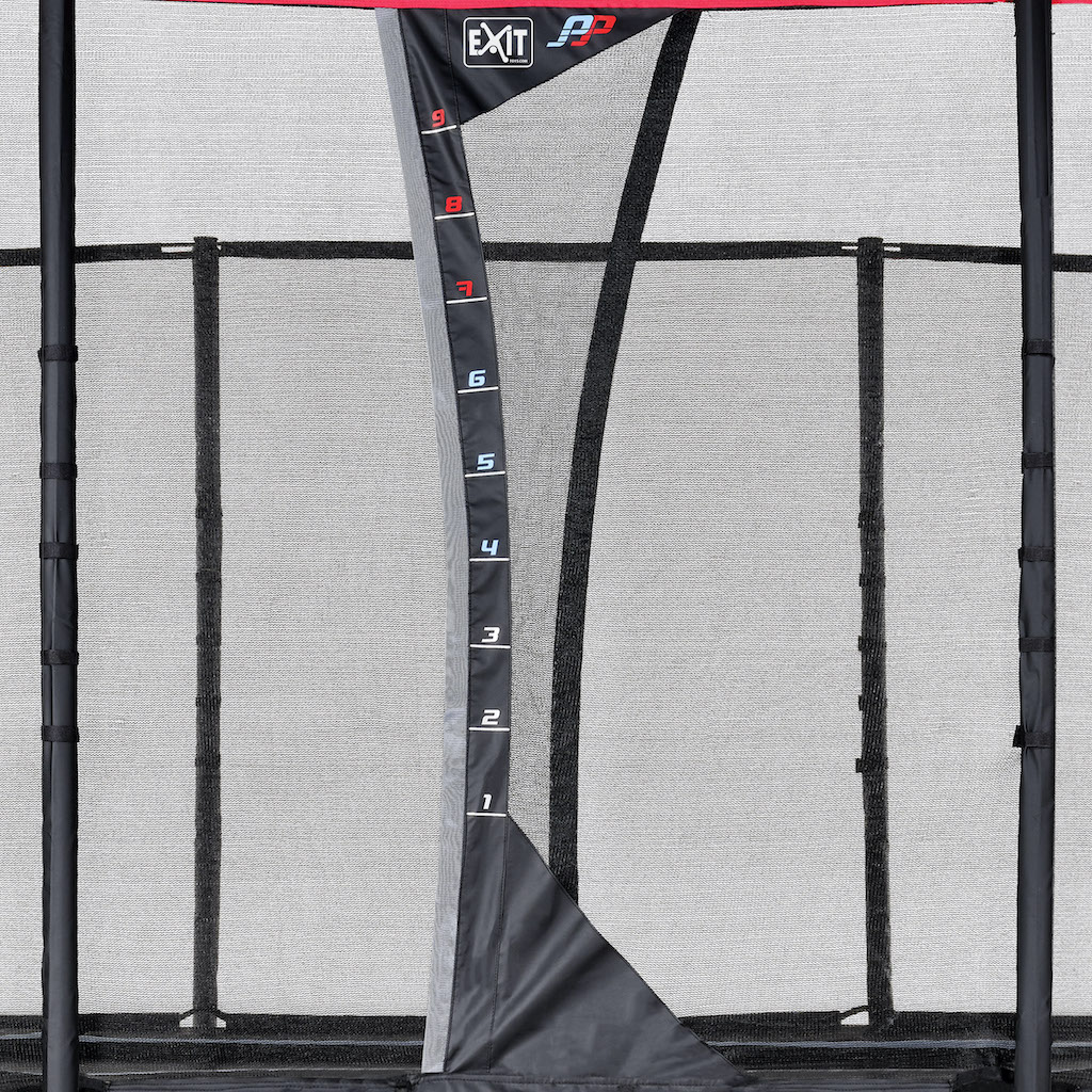 EXIT PeakPro trampoline 275x458cm - zwart