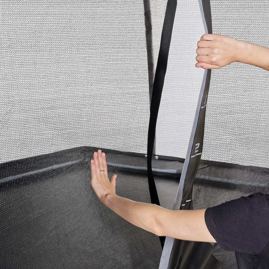 EXIT PeakPro trampoline 305x519cm - zwart