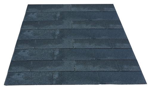 <BIG> <B> Bardeaux de toit par paquet de 3 m2, noir. </B> </BIG>