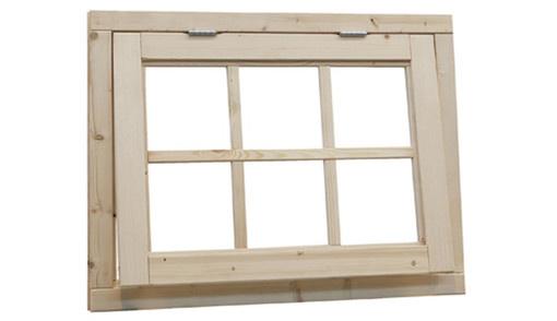 <BIG> <B> Fenêtre de cuisson à battant 6 diamants, taille 91 x 70 cm, non traitée. </B> </BIG>