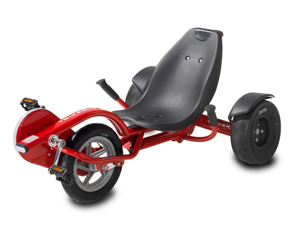EXIT Triker Pro 50 Red driewieler Kinderen Vooraandrijving Liggend