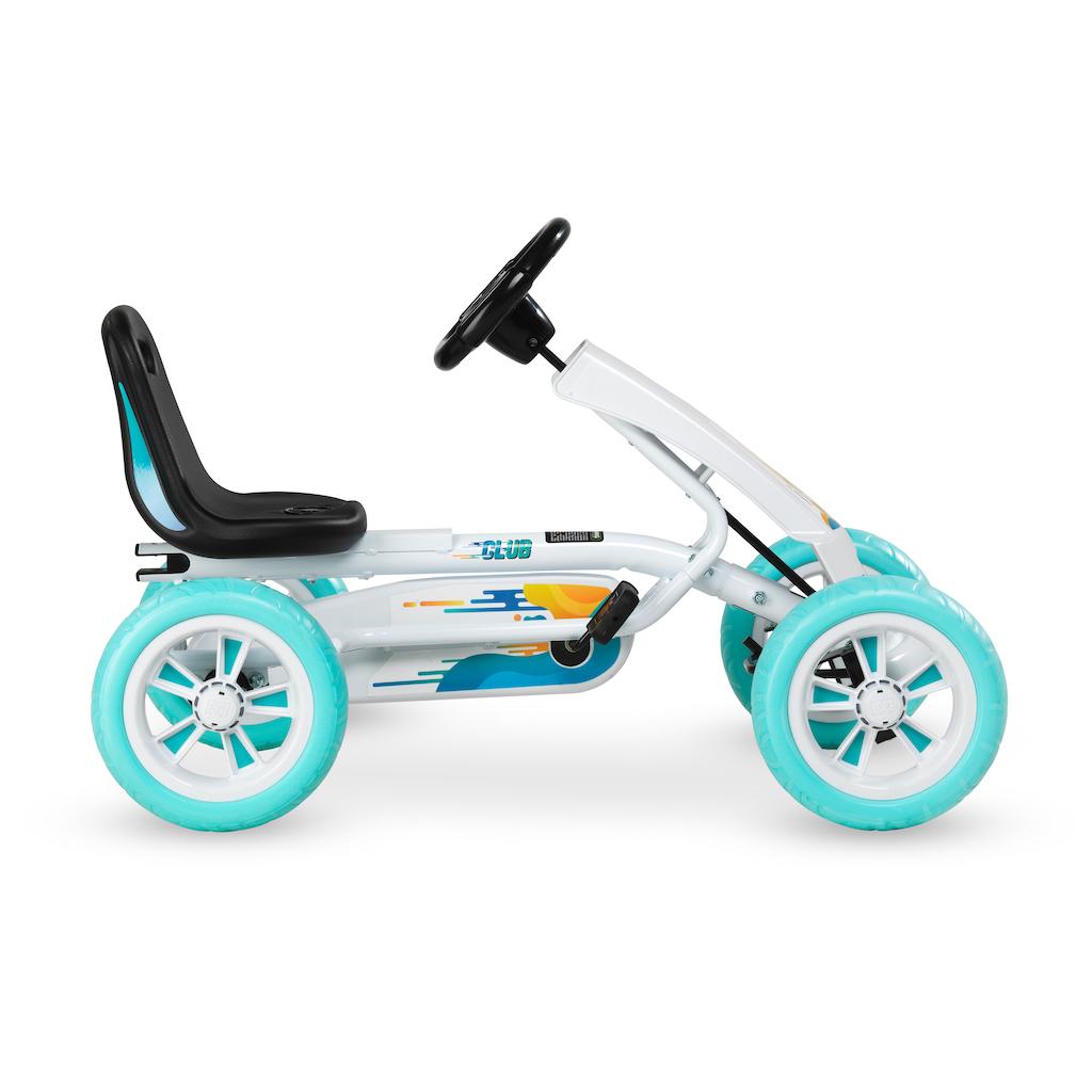 Kart à pédales EXIT Foxy Club - blanc