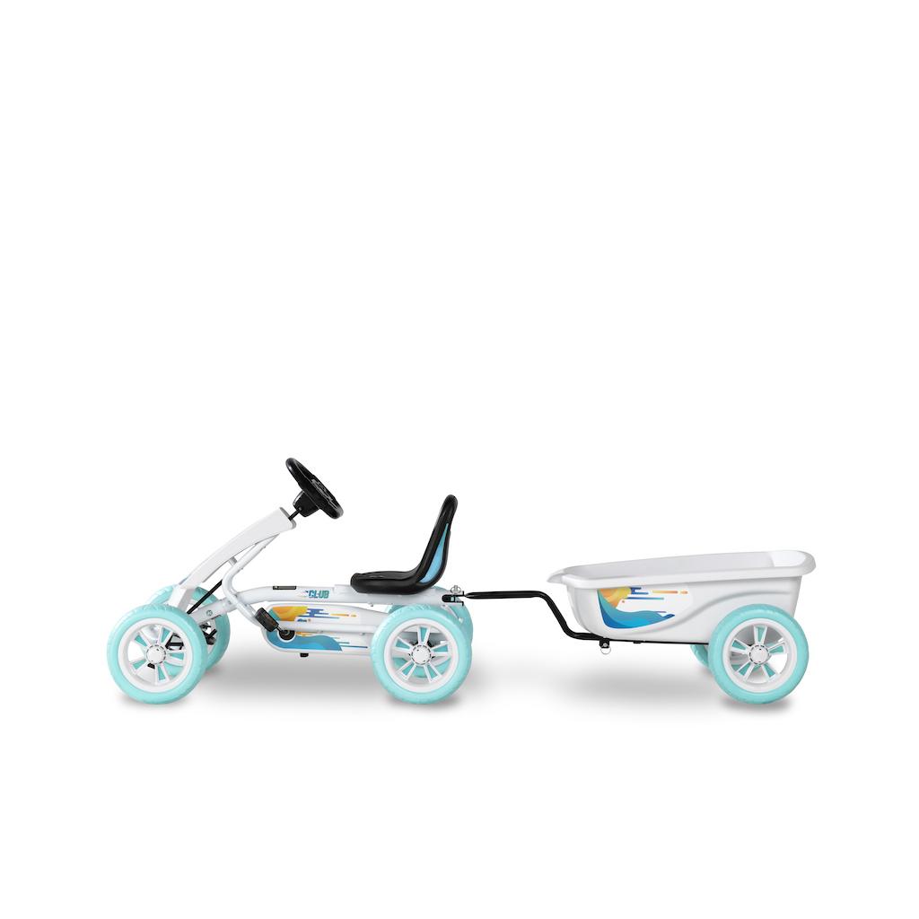 EXIT Foxy Club skelter met aanhangwagen - wit