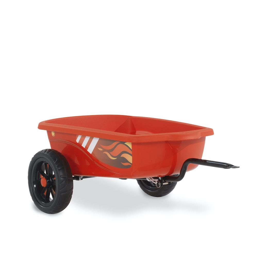 EXIT Foxy Fire skelter aanhangwagen - rood