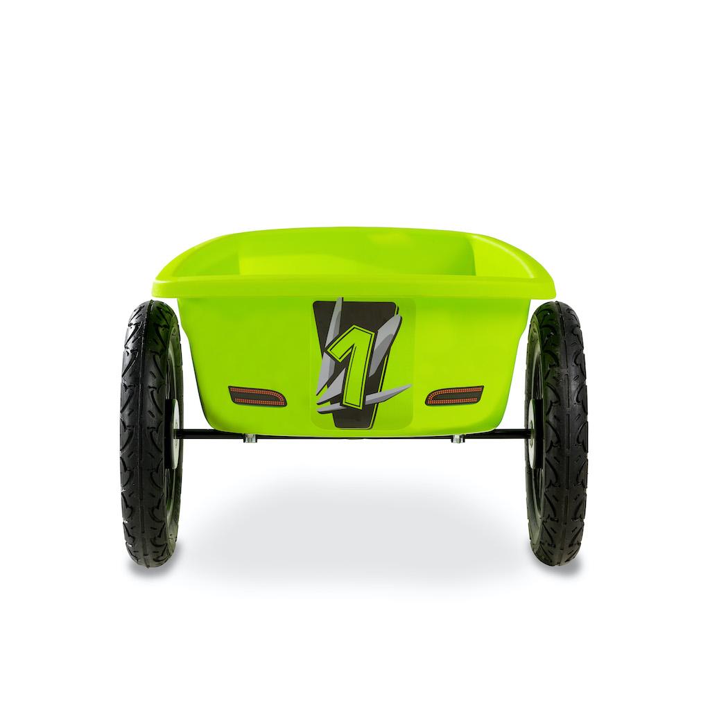 Remorque de karting EXIT Spider Green et Cheetah - verte