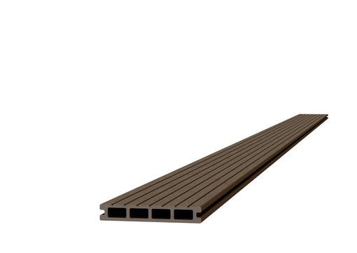 <BIG><B>Composiet dekdeel 2,3 x 14,5 x 420 cm, bruin.</B></BIG>