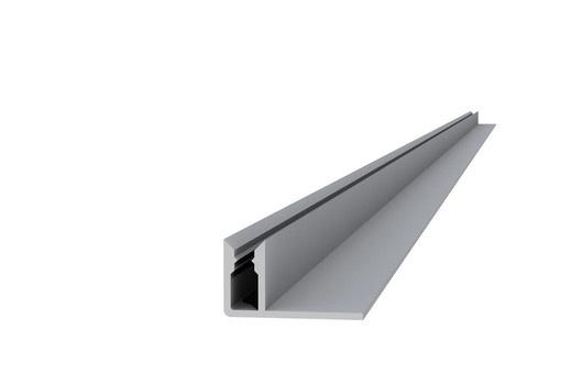 <BIG> <B> Profilé inférieur en aluminium 4,0 x 2,2 x 300 cm </B> </BIG>