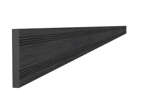 <BIG><B>Composiet afdeklat 0,8 x 6,3 x 300 cm, antraciet.</B></BIG>