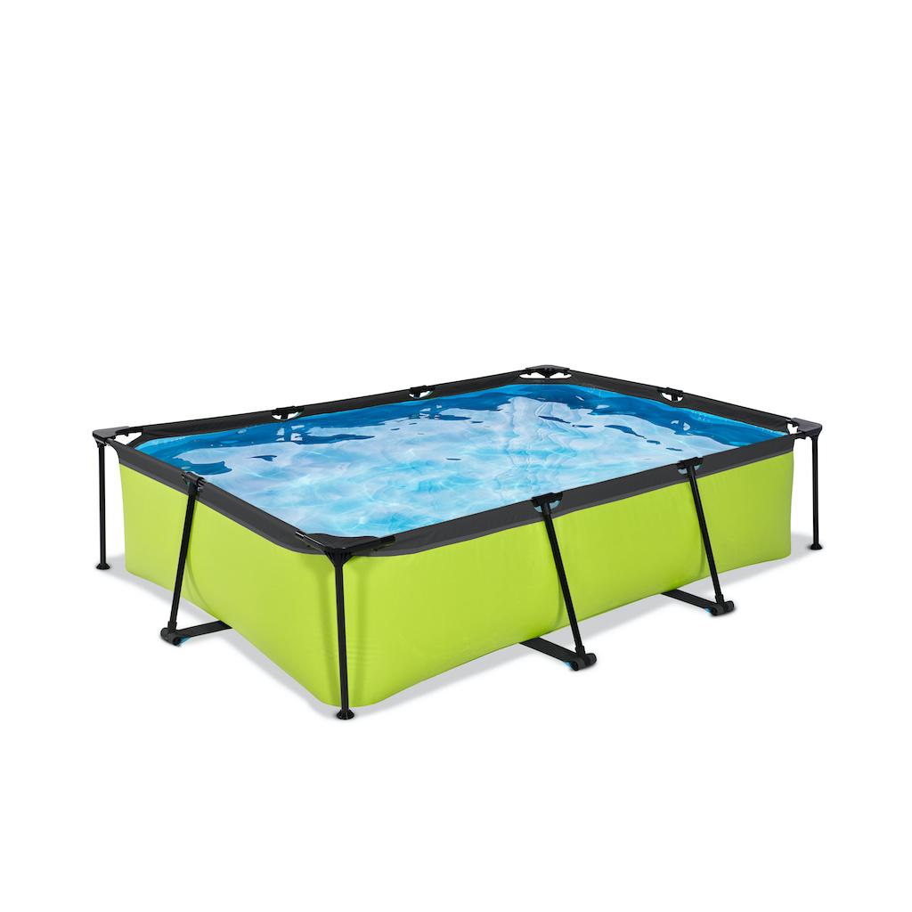 EXIT Lime zwembad 300x200x65cm met filterpomp - groen