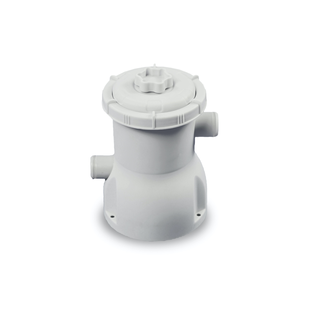 EXIT Piscine à la chaux ø360x76cm avec pompe de filtration - vert