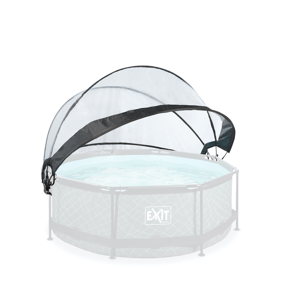 Abri de piscine EXIT ø244cm