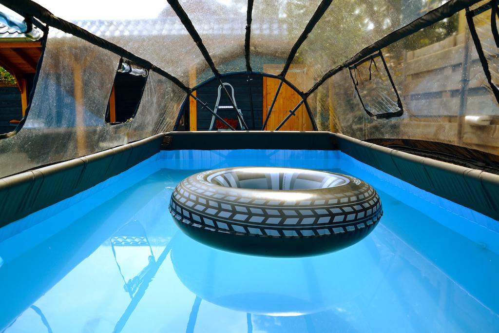 EXIT Couverture de piscine 400x200cm