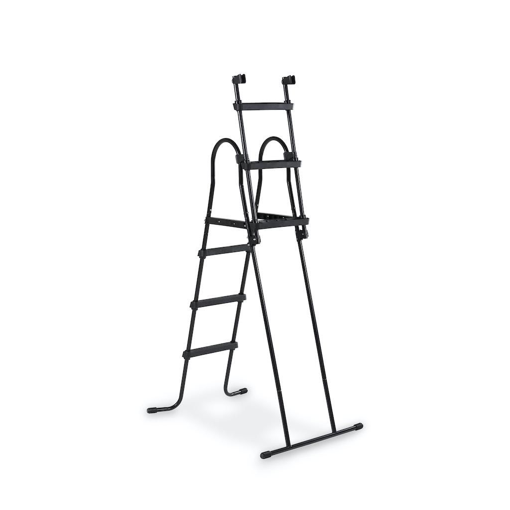 Escalier de piscine EXIT pour hauteur de cadre: de 91 à 107 cm - noir