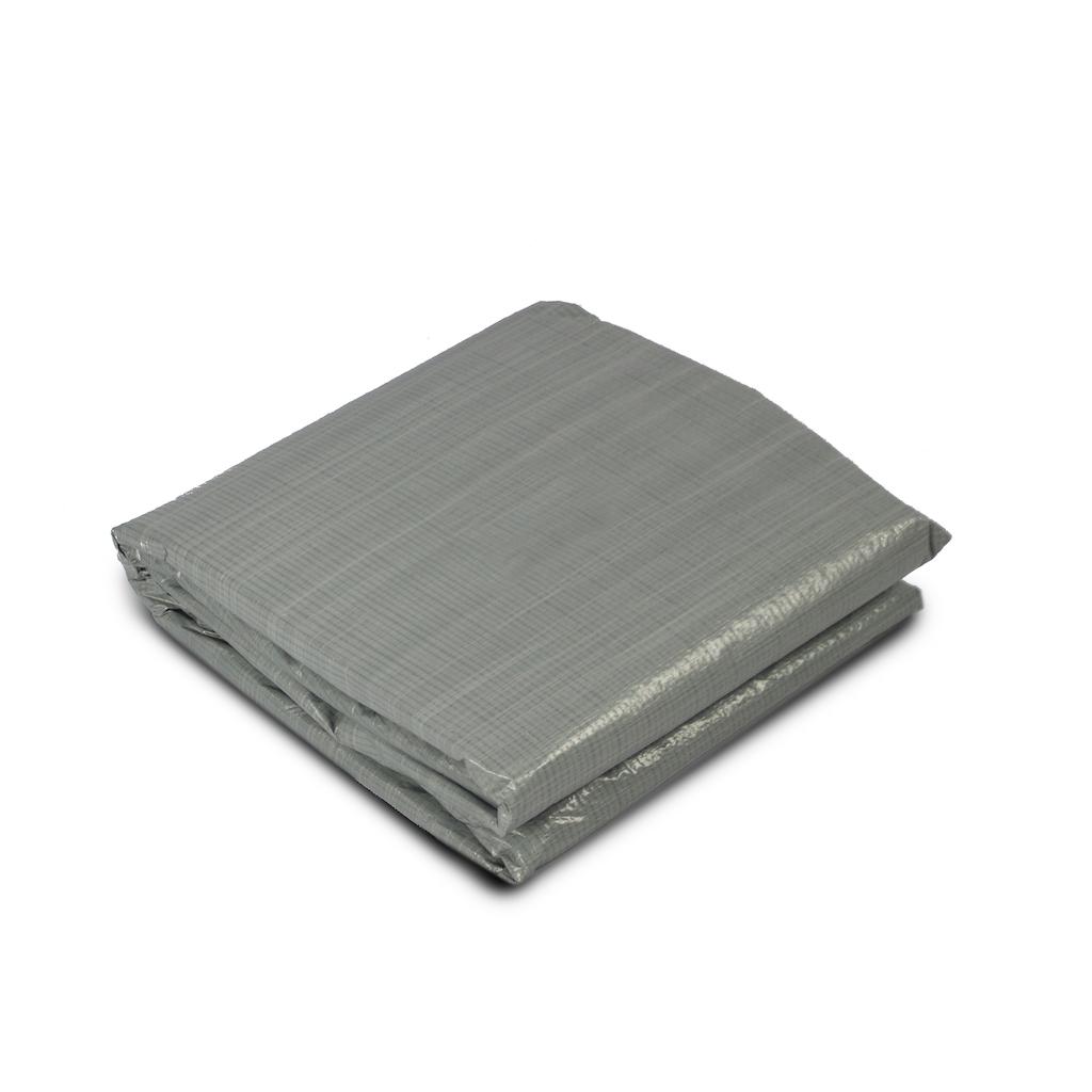 EXIT Zwembad grondzeil:  380x380cm - grijs