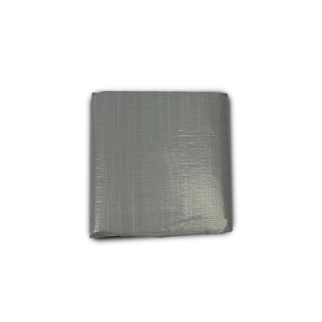 EXIT Zwembad grondzeil:  500x500cm - grijs