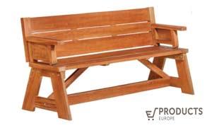 <BIG><B>Table de pique-nique en bois dur Vancouver</B></BIG>